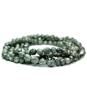 Silberperlenkette